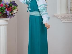 Платье Заморское. Ярмарка Мастеров - ручная работа, handmade.