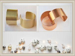 Как выбрать металлическую основу для браслета (ответы на вопросы). Ярмарка Мастеров - ручная работа, handmade.