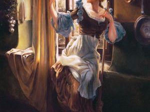 Художница нарисовала диснеевских принцесс в духе эпохи Возрождения. Что из это получилось? Смотрите и удивляйтесь. Ярмарка Мастеров - ручная работа, handmade.