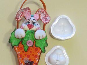 Делаем мордочку зайца из фоамирана. Ярмарка Мастеров - ручная работа, handmade.