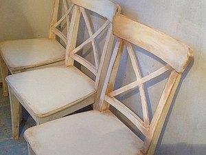 Состаривание стульев. Ярмарка Мастеров - ручная работа, handmade.