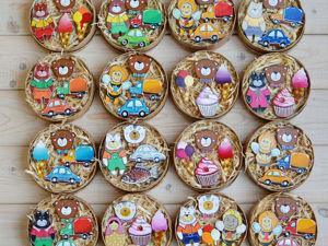 Подарочные наборы — Деревянные Броши в подарочной коробке. Ярмарка Мастеров - ручная работа, handmade.