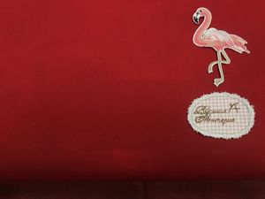 Распродажа Красный. Футер 2-х нитка с начесом до 29.05.19. Ярмарка Мастеров - ручная работа, handmade.