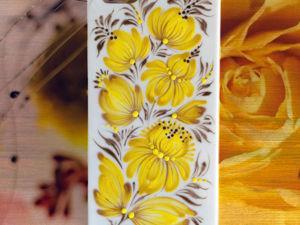 Золотые мотивы и теплый солнечный свет. Ярмарка Мастеров - ручная работа, handmade.
