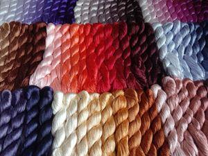 Поставка шелковых ниток для вышивки!. Ярмарка Мастеров - ручная работа, handmade.