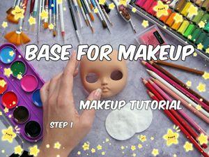 Кастом куклы Блайз: расписываем лицо. Этап 2. Ярмарка Мастеров - ручная работа, handmade.