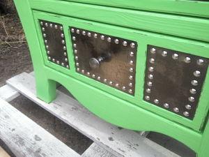 Новинка! Яркий комод с металлическими фасадами. Ярмарка Мастеров - ручная работа, handmade.