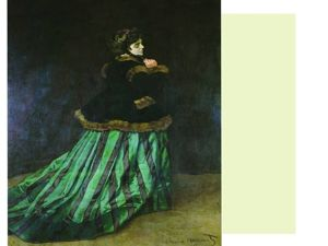 Дама в зеленом платье. Ярмарка Мастеров - ручная работа, handmade.