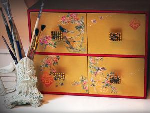 Мастерим мини-комод в японском стиле. Ярмарка Мастеров - ручная работа, handmade.