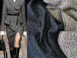 Костюмные ткани на основе шерсти. Ярмарка Мастеров - ручная работа, handmade.
