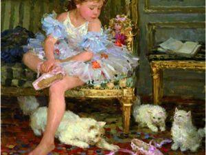 Сюжеты с детьми и животными на солнечных картинах Юрия Кротова. Ярмарка Мастеров - ручная работа, handmade.