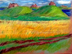 Пшеница у дороги. Ярмарка Мастеров - ручная работа, handmade.