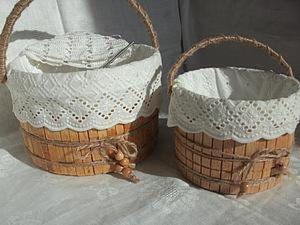 Making Your Own Basket for Needlework. Livemaster - handmade