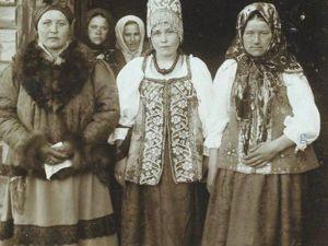 Русский костюм на фотографиях Николая Шабунина. Ярмарка Мастеров - ручная работа, handmade.