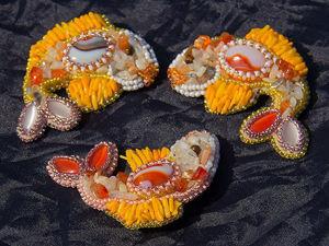 Видео мастер-класс по созданию парных брошей рыбок Кои своими руками. Ярмарка Мастеров - ручная работа, handmade.