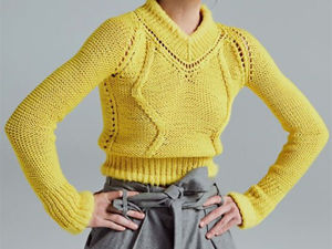 What Matches Yellow Knitted Clothes. Livemaster - handmade