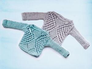 DIY. Как связать свитер для куклы Блайз. Ярмарка Мастеров - ручная работа, handmade.