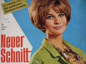 Neuer Schnitt — журнал мод 4/1964. Ярмарка Мастеров - ручная работа, handmade.