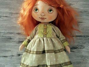 Шьем милое платье для куклы. Ярмарка Мастеров - ручная работа, handmade.