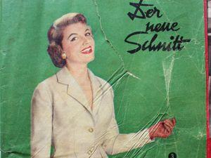 Der Neuer Schnitt — журнал мод -3/1957. Ярмарка Мастеров - ручная работа, handmade.