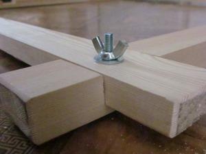 Изготавливаем раздвижную раму для батика с помощью примитивных инструментов. Ярмарка Мастеров - ручная работа, handmade.
