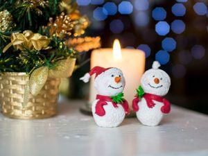 Лепим милого снеговичка из полимерной глины. Ярмарка Мастеров - ручная работа, handmade.
