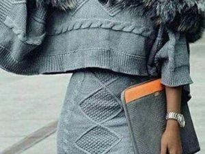 Вязаная мода «Haute Couture» 2018. Ярмарка Мастеров - ручная работа, handmade.
