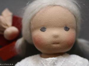 Как сделать Вальдорфской кукле румяные щёки. Ярмарка Мастеров - ручная работа, handmade.