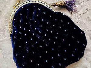 Шьем сумочку на фермуаре. Ярмарка Мастеров - ручная работа, handmade.