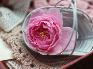 Лепим английскую розу из холодного фарфора. Ярмарка Мастеров - ручная работа, handmade.