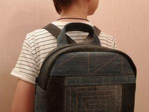 Розыгрыш стильного рюкзака!. Ярмарка Мастеров - ручная работа, handmade.