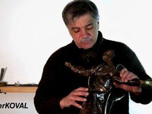 Ангел из металла. Холодная художественная ковка. Ярмарка Мастеров - ручная работа, handmade.
