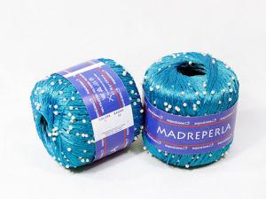Обзор пряжи Madreperla Tropical Lane / Пряжа с бусинами. Ярмарка Мастеров - ручная работа, handmade.