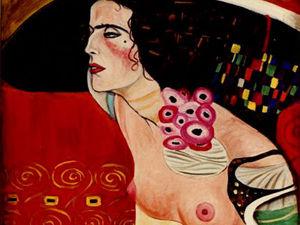 Густав Климт: «Нравиться многим — зло». Ярмарка Мастеров - ручная работа, handmade.