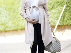 Как одеваться стильно беременной девушке. Ярмарка Мастеров - ручная работа, handmade.