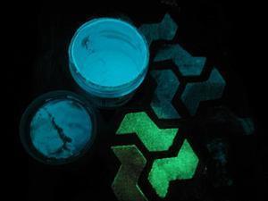"""Что такое """"люминесцентные краски""""?. Ярмарка Мастеров - ручная работа, handmade."""
