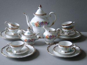 Раритет.Кофейный сервиз Мокка Weimar Porzellan. Ярмарка Мастеров - ручная работа, handmade.