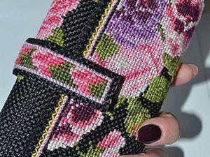 Мастерим кошелек с вышивкой. Ярмарка Мастеров - ручная работа, handmade.