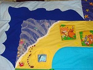 Шьем детский развивающий коврик. Ярмарка Мастеров - ручная работа, handmade.