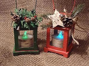 Создаем новогодний фонарик. Ярмарка Мастеров - ручная работа, handmade.