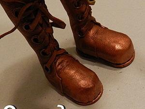 Изготовления кукольной обуви без колодки. Ярмарка Мастеров - ручная работа, handmade.