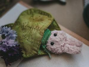 Создаём сумочку-листик для игрушки. Ярмарка Мастеров - ручная работа, handmade.