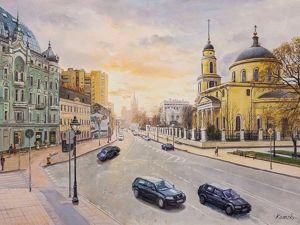 Прогулки по Москве. Ярмарка Мастеров - ручная работа, handmade.