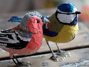 Текстильные птички Эбигейл Браун. Ярмарка Мастеров - ручная работа, handmade.