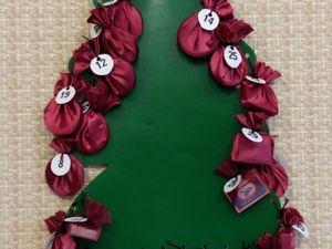 Делаем адвент-календарь для детей своими руками. Ярмарка Мастеров - ручная работа, handmade.
