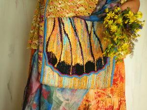 Лето, дача и тканьё. Ярмарка Мастеров - ручная работа, handmade.