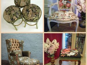 Коллекция мебели, оббитой гобеленовыми тканями, имеющимися в наличии в ГОБЕЛЕНОВОМ РАЕ. Ярмарка Мастеров - ручная работа, handmade.