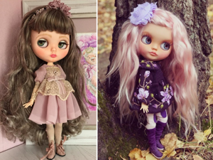 From Russia with Love: Adorable Dresses for Blythe dolls. Livemaster - handmade