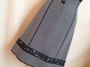 25% скидка на готовую юбку https://www.livemaster.ru/item/28427015-odezhda-yubka-seraya-s-vysokoj-taliej. Ярмарка Мастеров - ручная работа, handmade.