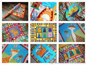 Лоскутные покрывала с аппликациямими для детей и взрослых!. Ярмарка Мастеров - ручная работа, handmade.